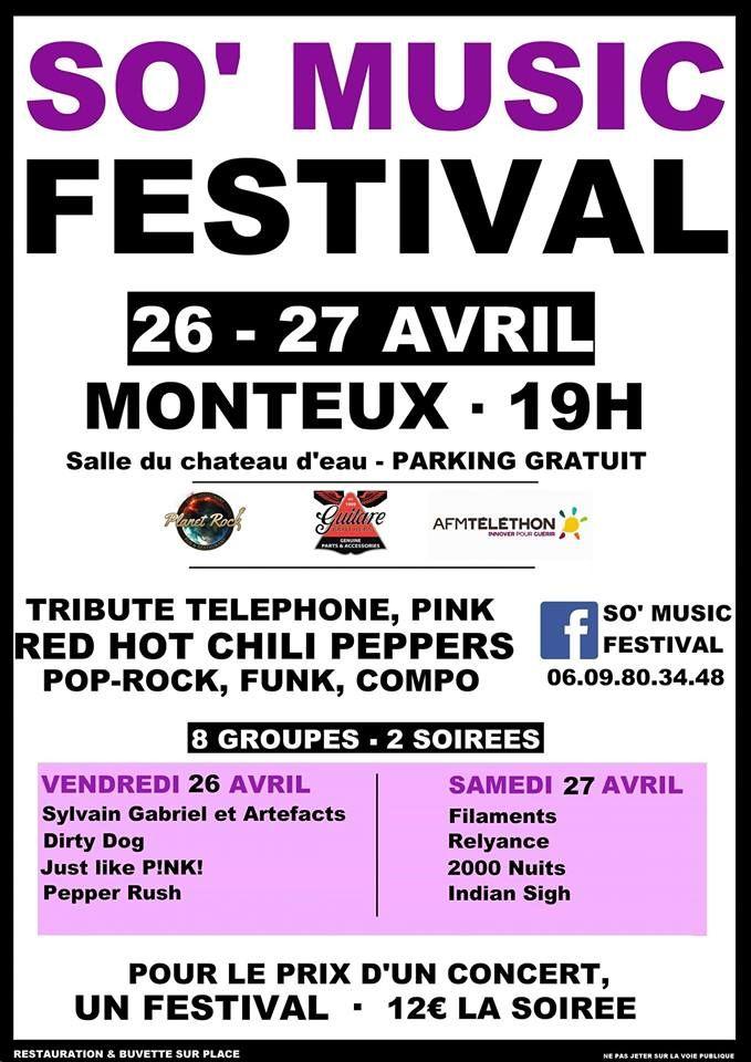 Sylvain Gabriel au So' Music Festival Monteux Avril 2019