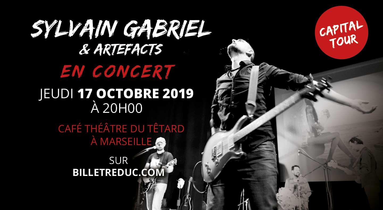 Sylvain Gabriel en concert à Marseille